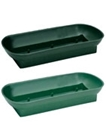 #78 DOUBLE DESIGN BOWL GREEN EACH