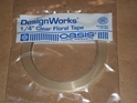 OASIS WATERPROOF TAPE CLEAR 1/4""