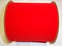 "#300 VELVET RED VEL-PRUF RIBBON 6"" 25 YD/ROLL"