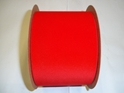 "#100 VELVET RED VEL-PRUF RIBBON 4"" 25 YD/ROLL"