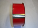 "#40 RED VELVET (GOLD BACKED) RIBBON 2 1/2"" 25 YD/ROLL"
