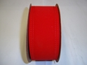 "#40 WIRED VELVET RED RIBBON 2 1/2"" 20 YD/ROLL"