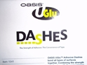 "DASHES-OASIS UGLU ADHESIVE DASHES 1/2""X5/8"" 1000/ROLL"
